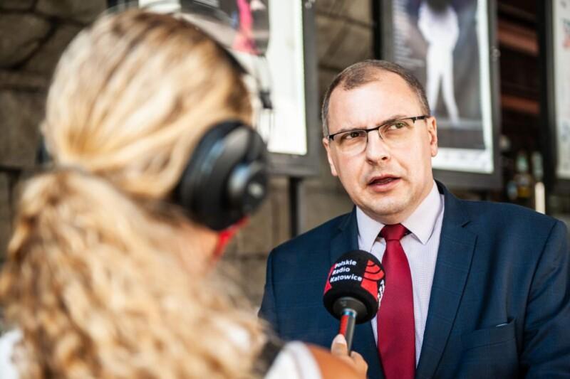 Prowadzę jestem trzeźwy_Grzegorz Baranowski dyrektor ROPS Woj. Śląskiego...