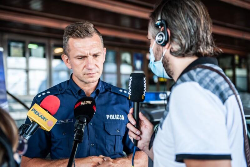 Prowadzę jestem trzeźwy_podkom. Tomasz Bratek WRD Komenda Woj. Policji w...